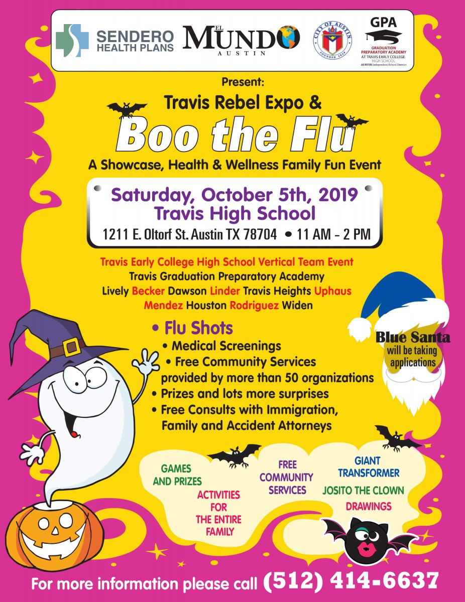 TREx & Boo the Flu Flyer in English